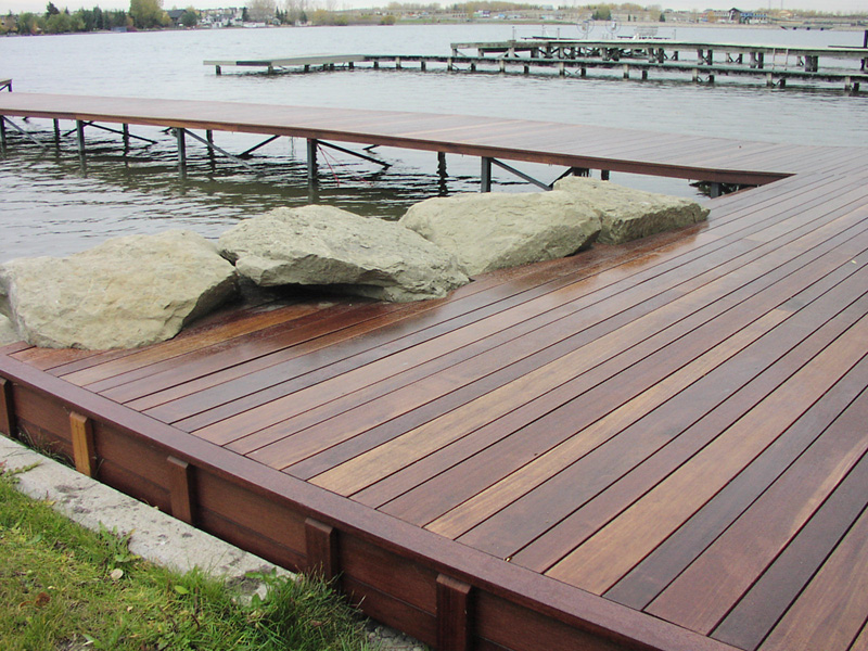 Bangkirai for Decking
