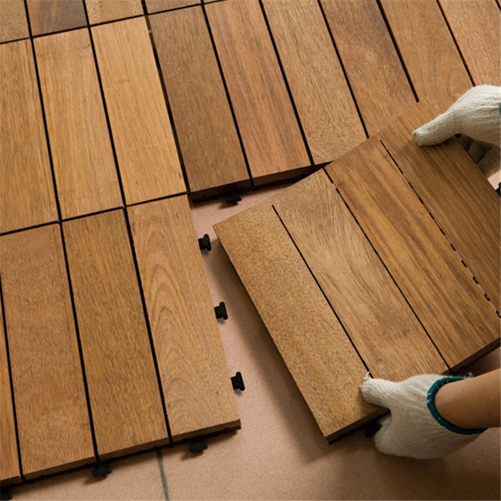 Teak Wood Flooring Adds Timeless Beauty