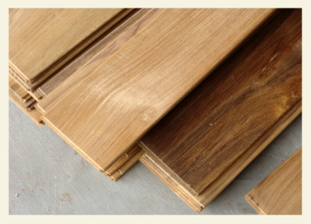 Reeded Anti Slip Decking's Dimension Teak Flooring