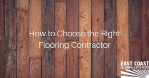 We Are Hiring The Right Flooring Contractor